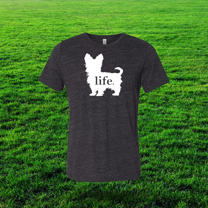 Yorkshire Terrier 'Dog Life' Gents T