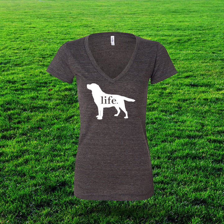Labrador 'Dog Life' Life Ladies T