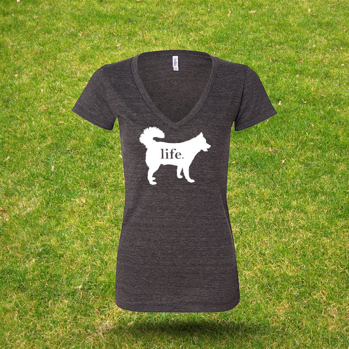 Husky 'Dog Life' Life Ladies T