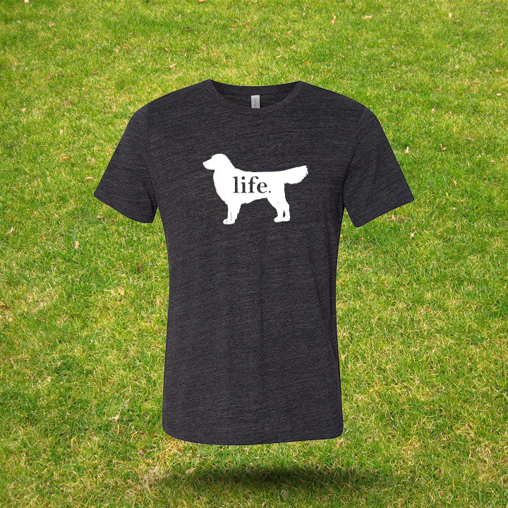 Golden Retriever 'Dog Life' Gents T
