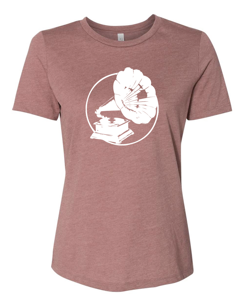 Gramophone Icon - Ladies Tee
