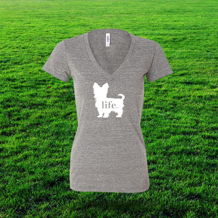 Yorkshire Terrier 'Dog Life' Life Ladies T