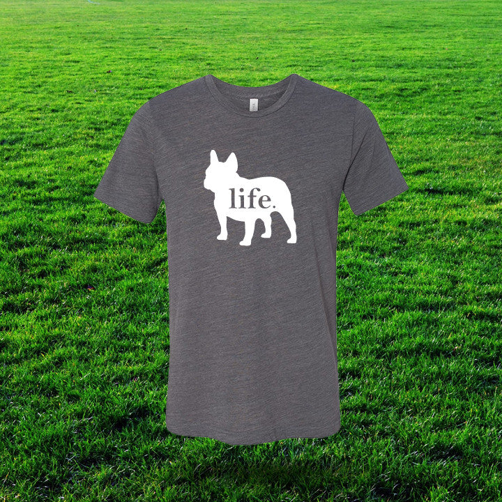 French Bulldog 'Dog Life' Gents T