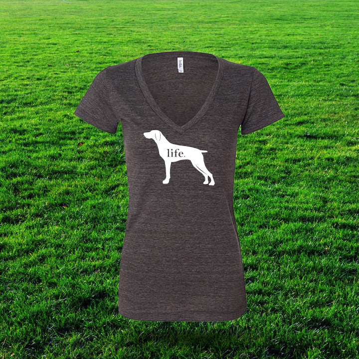 German Shorthaired Pointer 'Dog Life' Life Ladies T