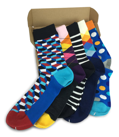5 Pairs Men's Power Socks - Activity Charge