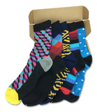 5 Pairs Men's Power Socks - Double Flash