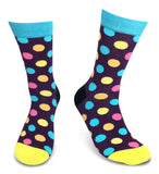 2 Pairs Men's Power Socks - Polka Dot
