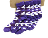 5 Pair Men's Matching Fashionable Dress Socks Gift Box - Groomsmen Weddings Party Socks