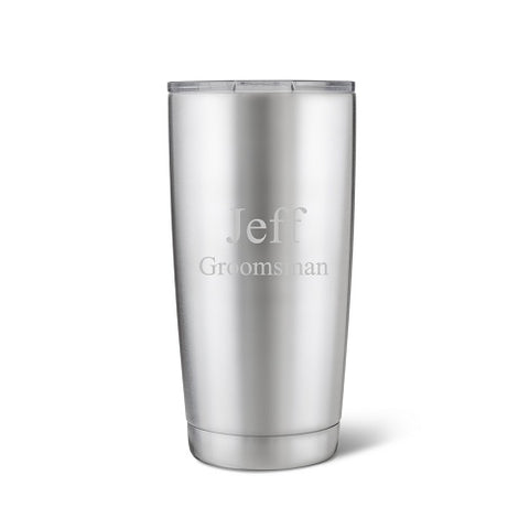 20 oz. Stainless Steel Double Wall Insulated Tumbler