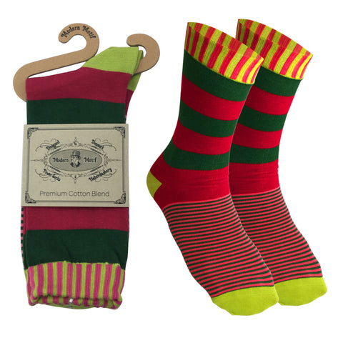 Mens Colorful Funky Fun Socks