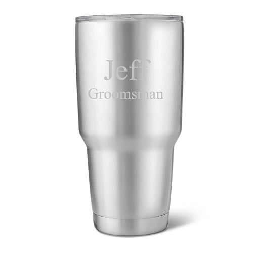 30 oz. Stainless Steel Double Wall Insulated Tumbler