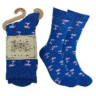 Mens Colorful Novelty Funky Fun Cotton Fashion Anchor Socks  Collection- Single Pairs