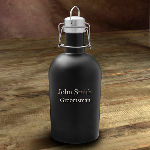 Black Matte Stainless Growler