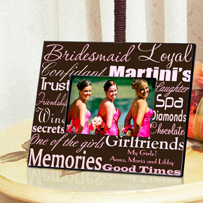 Bridesmaid Frame - Available in 7 Colors