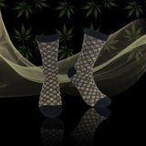 Buddies Weed Socks-Marijuana Socks-Kush-LV Novelty Men's Socks(Kush)