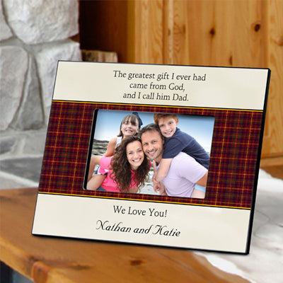 Father's Poem Frame - Available in 4 Poems
