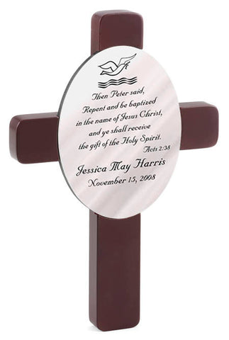 Personalized Baptism Cross - Available in 3 Designs