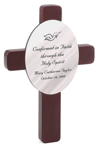 Personalized Confirmation Cross - Available in 3 Designs