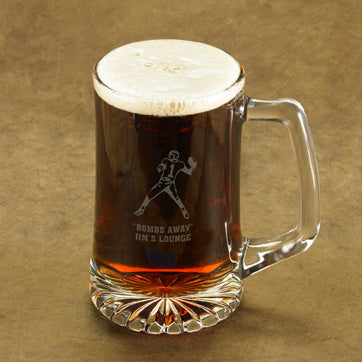 Personalized Icon 25 oz. Sports Mug - Available in 9 Designs