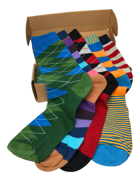 5 Pairs Men's Power Socks - Jefe Collection
