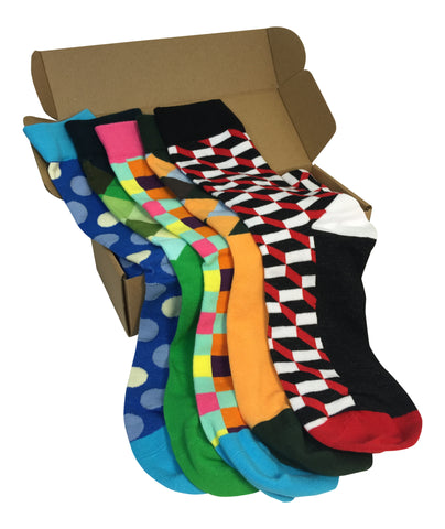 5 Pairs Men's Power Socks - #Sockgame Plan-B Collection