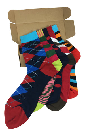 5 Pair Men's Power Socks - C-Level Collection
