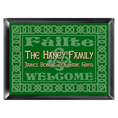 Irish Family Signs - Available in 5 Designs