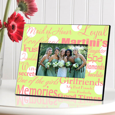 Maid of Honor Frame - Available in 7 Colors