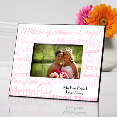 Matron of Honor Frame - Available in 7 Colors