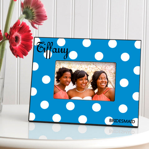 Polka Dot Frame - Available in 6 Colors