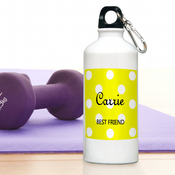Polka Dots Water Bottle