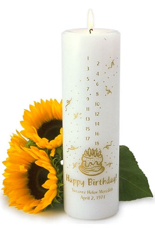 Birthday Countdown Candle