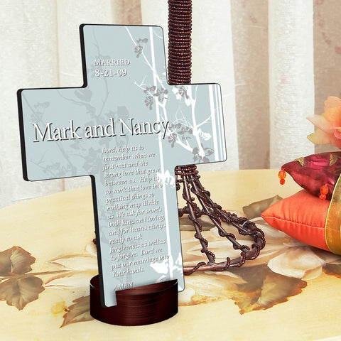 Gardens of Grace Cross - Available in 9 Prayers