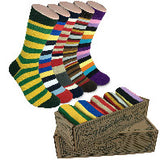 5 Pairs Men's Power Socks - Parallels
