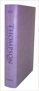 Thompson Chain-Reference Bible 537 Lavender