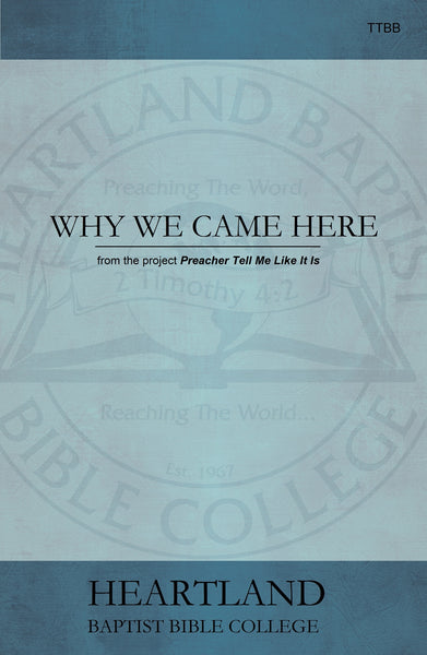 Why We Came Here Sheet Music