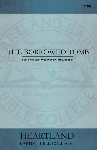The Borrowed Tomb Sheet Music