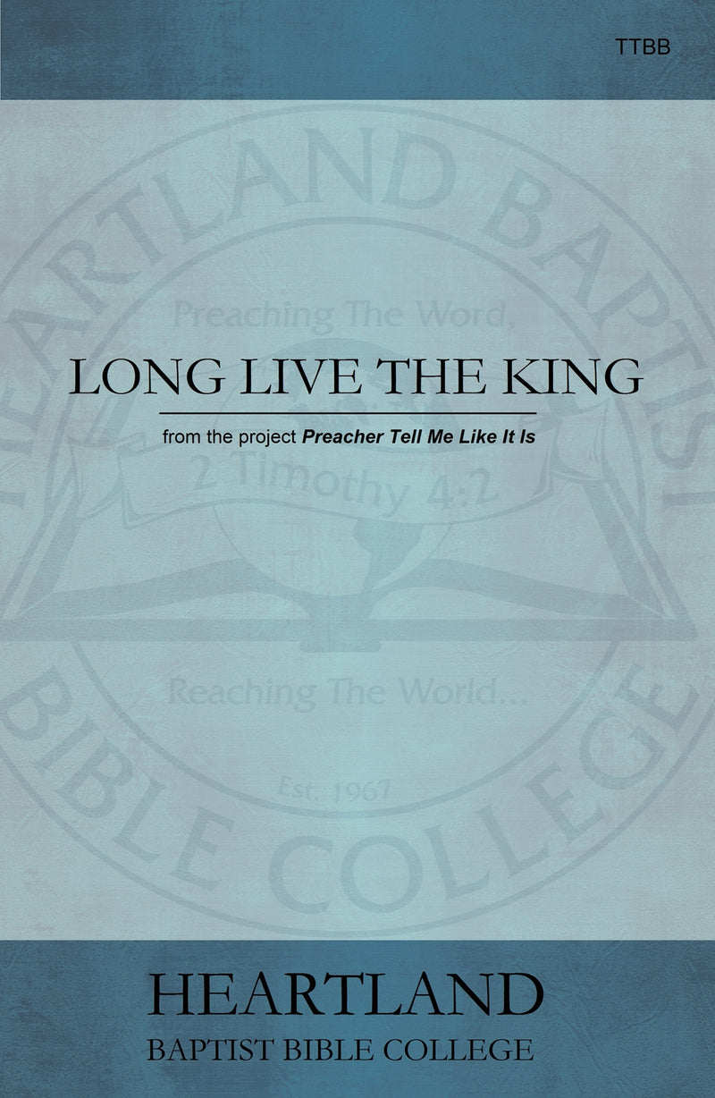 Long Live the King Sheet Music