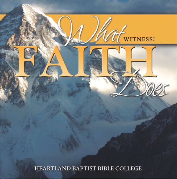 What Faith Does CD