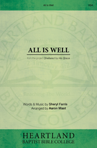 All Is Well - Sheet Music from Heartland Baptist Bookstore
