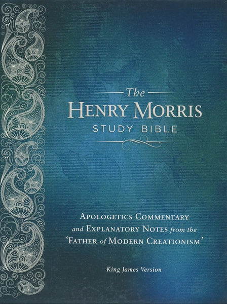 The KJV Henry Morris Study Bible, Genuine Leather, black