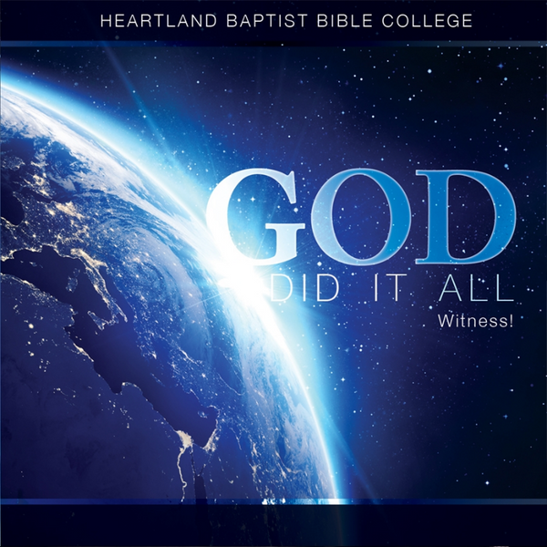 God Did It All CD