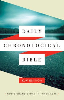 Daily Chronological Bible: KJV Edition, Hardcover