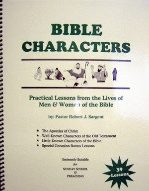 Bible Characters - Books from Heartland Baptist Bookstore