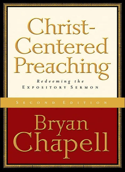 Christ- Centered Preaching - Books from Heartland Baptist Bookstore