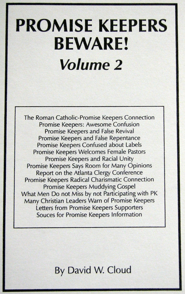 Promise Keepers Beware! Vol 2