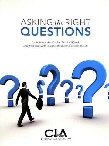 Asking the Right Questions - Books from Heartland Baptist Bookstore