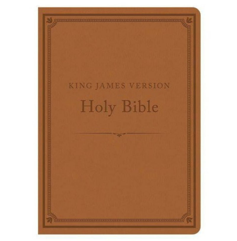 KJV Compact Gift and Award Bible, Reference Ed. Camel