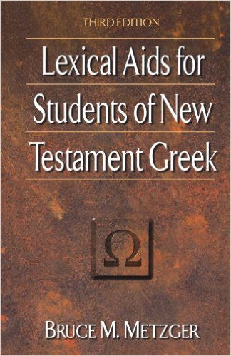 Lexical Aids for Students of NT Greek