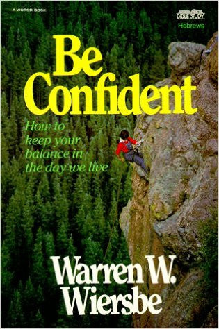 Be Confident (Hebrews) - Books from Heartland Baptist Bookstore